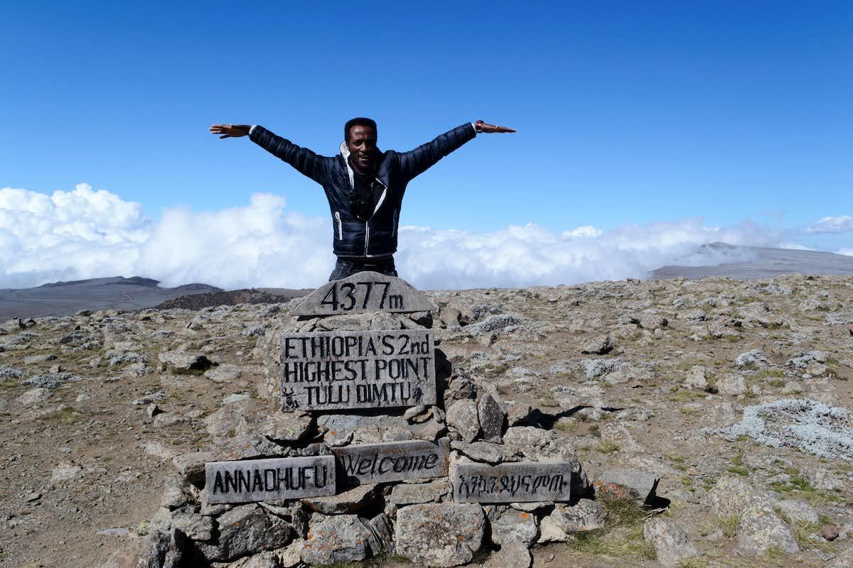 Marc, Brilliant Ethiopia.