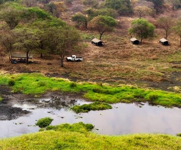 Camping in Ethiopia