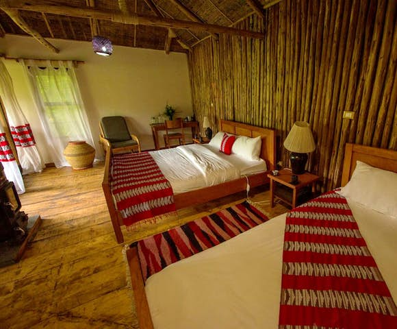Room at Bale Mountain Lodge