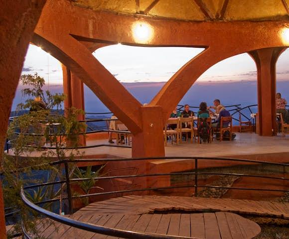 Ben Abeba Restaurant in Lalibela