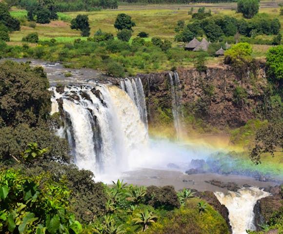 Blue Nile Falls in Bahir Dar