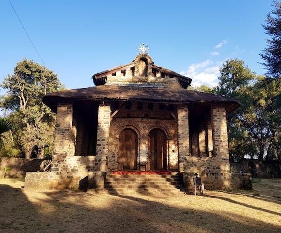 Debre Berhan Selassie Church in Gonder