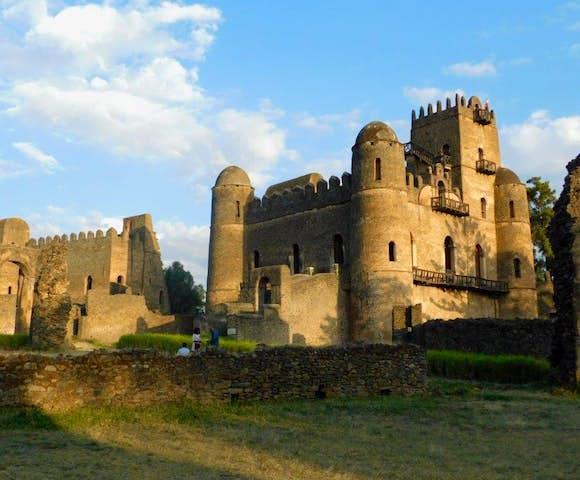 Fasil Ghebbi, The Royal Enclosure in Gondar