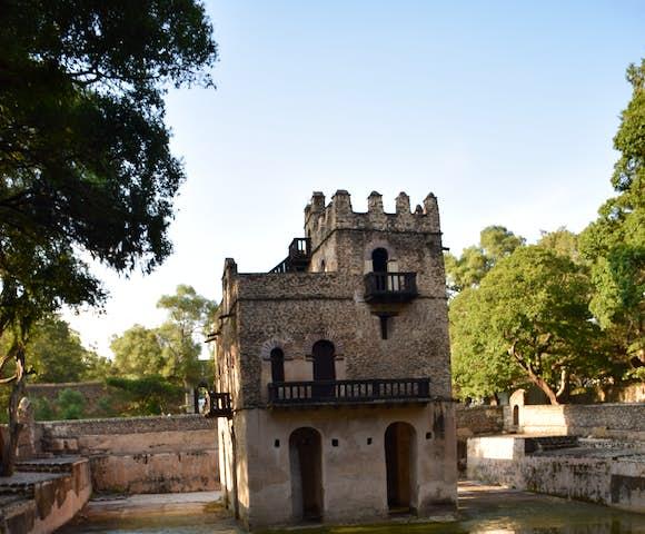 Fasilides Bath in Gondar Ethiopia