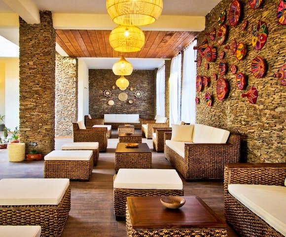 Lounge area at Gondar Hills Resort