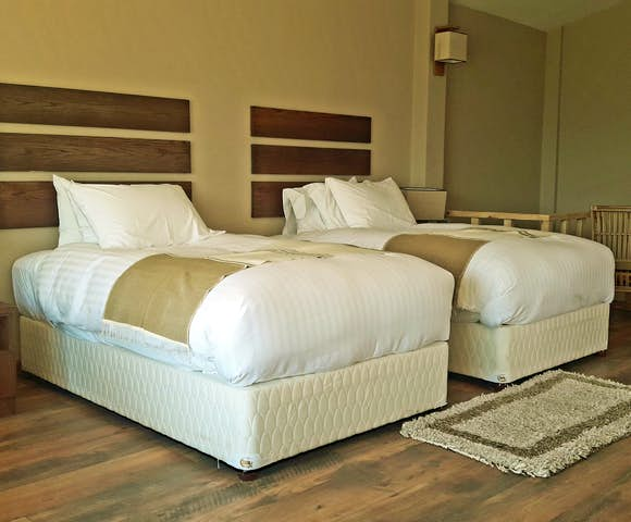 Twin room at Gondar Hills Resort