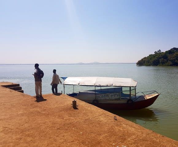 Boat trip on Lake Tana in Bahir Dar