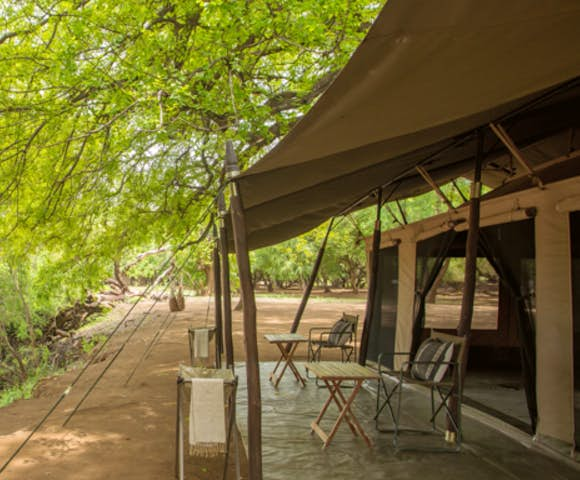 Lales camp exterior in the Omo Valley