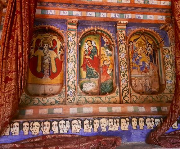Monasteries on Lake Tana in Bahir Dar