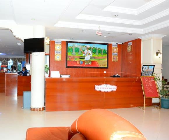 Reception at Yared Zema Hotel