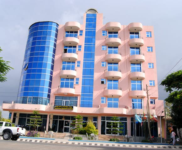 Outside view of Yared Zema Hotel